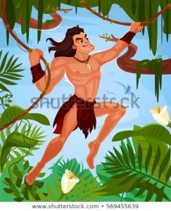 tarzan-swinging-on-vines-450w-569455639